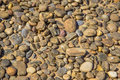Pile of Beach Stones Royalty Free Stock Photo