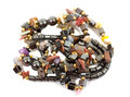 Pile of beads Stock Image