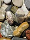 A pile of beautiful ocean rocks Royalty Free Stock Photo