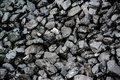 Pile Of Black Coal Royalty Free Stock Photo