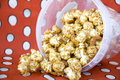 Pile of caramel popcorn Royalty Free Stock Photo