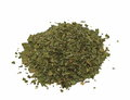Pile celery spice, dried chopped  leaves Royalty Free Stock Photography