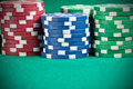 Pile of Chips Royalty Free Stock Images