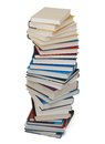 A pile of class books Royalty Free Stock Photos