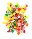 Pile of color candies Royalty Free Stock Images