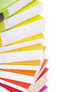 Pile of colorful books Royalty Free Stock Images