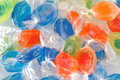 Pile of colorful candies Stock Photos