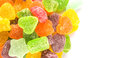 Pile Of Colorful Sugar Jelly Candy VIII Royalty Free Stock Photo
