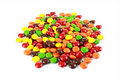 A pile of colourful candies Royalty Free Stock Image