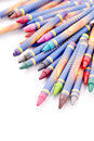 Pile of Crayons Royalty Free Stock Photography