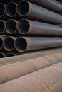 Pile de tube Images stock