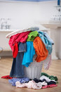Pile of dirty washing Stock Photo