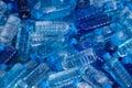 Pile of fresh water bottles Royalty Free Stock Image