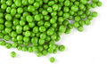 Pile of grean pea Royalty Free Stock Photo