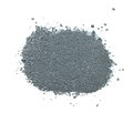 Pile gunpowder black powder isolated on white background Royalty Free Stock Photo