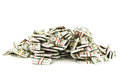Pile of money Royalty Free Stock Photo