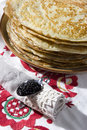 Pile of pancakes Stock Image