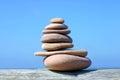Pile Of Pebble Stones