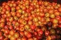 Pile of Pomegranates in Market Royalty Free Stock Photo