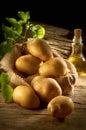 Pile of Potato