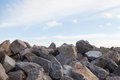 Pile of Rocks Boulders for Construction Royalty Free Stock Photo