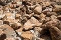 Pile of rocks Royalty Free Stock Photo