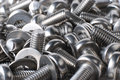 A Pile Of Screws Royalty Free Stock Photo