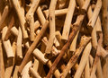 Pile of sticks Stock Photo