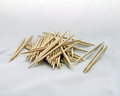Pile of toothpicks photo a scattered Royalty Free Stock Image