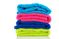 Pile towels Stock Image