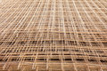 A pile of welded wire mesh Royalty Free Stock Photo
