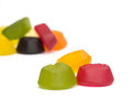 A pile of wine gums Royalty Free Stock Photos