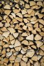 Pile of wood Royalty Free Stock Photos