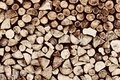Pile of wood logs background pattern brown vintage tone Stock Photos