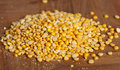 Pile of yellow lentils Royalty Free Stock Image