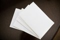 Piles of envelopes Royalty Free Stock Photo
