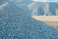 Piles of gravel Royalty Free Stock Photo