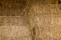 Piles of straw Royalty Free Stock Photo