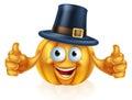 Pilgrim hat pumpkin
