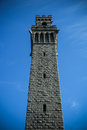 Pilgrim monument tower the in provincetown cape cod massachusetts Stock Photo