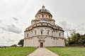 The pilgrinage church santa maria della consolazione in todi um renaissance a famous catholic pilgrimage cathedral umbria italy Royalty Free Stock Photos