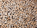 Pilha dos troncos Foto de Stock Royalty Free