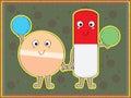 Pill Info Royalty Free Stock Photo