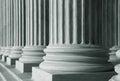 Pillars Royalty Free Stock Photo