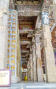 Pillars of the shrine Royalty Free Stock Photo