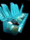Pillen en geneesmiddelen Royalty-vrije Stock Afbeeldingen