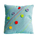 Pillow blue Royalty Free Stock Images