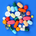 Pills Royalty Free Stock Photos