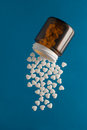 Pills as heart Royalty Free Stock Photo