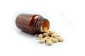 Pills drugs. Royalty Free Stock Photo